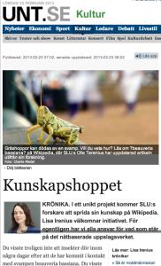 Kunskapshoppet   Kultur   UNT.se