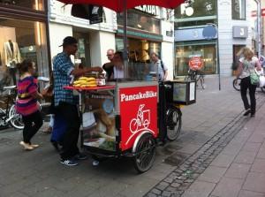 Pancake bike
